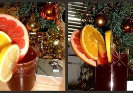 Vánoční (ne)alko citrus punč recept