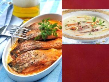 Sváteční oběd 24  Rybí polévka a Kapr po provensálsku