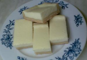 Linecký tvarohový koláč