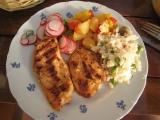 Indické opečené kuře recept