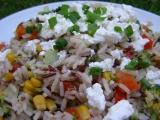 Divoká rýže se zeleninou recept