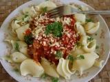 Těstovinové mušle recept