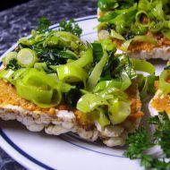 Špenátovo-pórková chuťovka recept