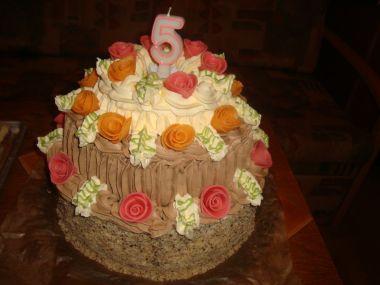 Ořechový dort velký