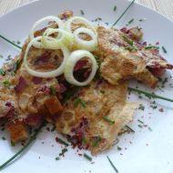 Vaječná omeleta s chlebem recept