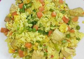 Kuřecí čína se zeleninou recept
