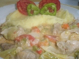Bulharské zelí recept