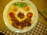 Omeleta xichtík recept