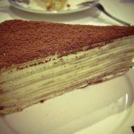 Tiramisu crepe tart recept