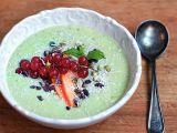 Zdravá ovocná zelená snídaně (raw) recept