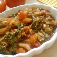 Teplý zahradní salát recept