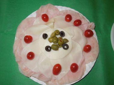 Pomazánka ze sýra a šunkového salámu