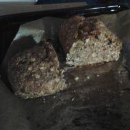 Celozrnný chléb bez kynutí recept