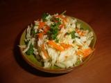 Zimní salát s čínského zelí recept