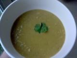Zeleninový krém s červenou čočkou a koriandrem recept ...