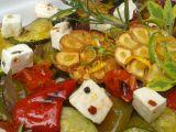 Pečená zelenina s kozím sýrem a bylinkami recept