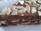 Nepečené čokoládové řezy ze salka recept