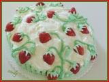 Tvarohový dort Jahody recept