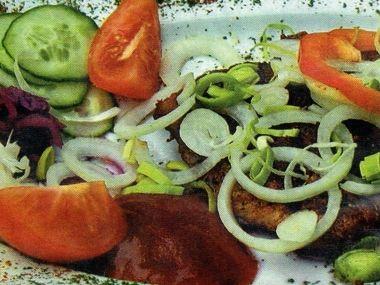 Vepřový plátek na grilu 1 porce
