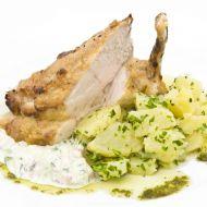 Marinované kuřecí prso Satay s petrželovými bramborami recept ...