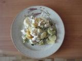 Smetanové brambory s brokolicí recept