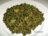 Indická zelená čočka recept