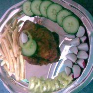 Krůtí řízek plněný šunkou a hermelínem recept