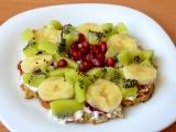 Lehká letní snídaně s příchutí banánu recept