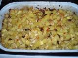 Zapečené brambory se zeleninou recept