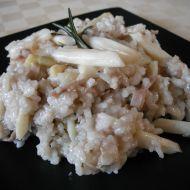 Krémové rizoto s chřestem recept