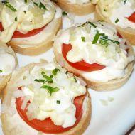 Domácí rajčatové chlebíčky recept