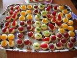 Ovocné mini košíčky recept
