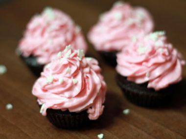 Ovocný krém na cupcake