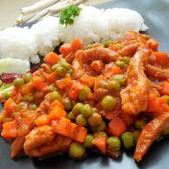 Sójové nudličky v rajčatové omáčce recept