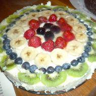 Ovocný máslový dort recept