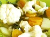 Letní zeleninová polévka recept