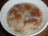 Chlebová česnečka recept