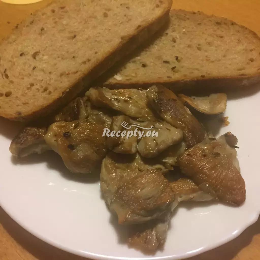Holubinky na kmíně recept  houbové pokrmy