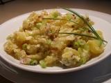 Pečený bramborový salát ( teplý) recept