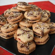 Mandlovo-skořicové sušenky recept