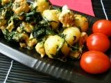 Gnocchi s kuřecím masem a špenátem recept