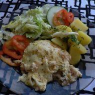 Rybí filé se sýrovým bešamelem recept