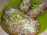 Zapečené tousty Franz Josef se zeleninou recept