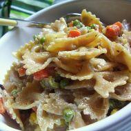 Zdravý těstovinový salát recept