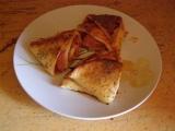 Pizza trojúhelníky recept