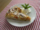 Meruňkový koláč s tvarohem a drobenkou recept