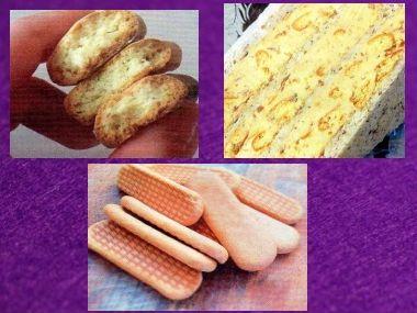 Domácí sušenky/piškoty s karamelovým základem