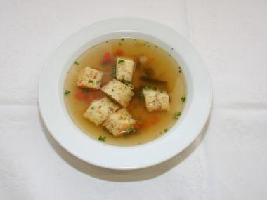 Recepty Šunkový svítek k polévce