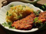 Květákové tandoori placičky s kuřecím masem recept