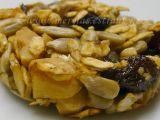 Slunečnicovo  ovesné sušenky recept
